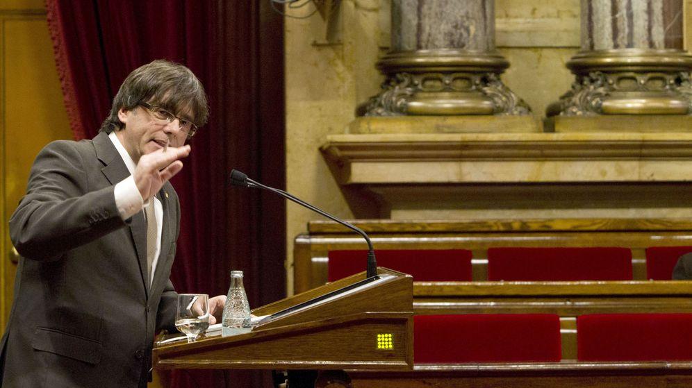 Foto: Pleno del Parlament de Cataluña, en enero 2016   Foto: EFE