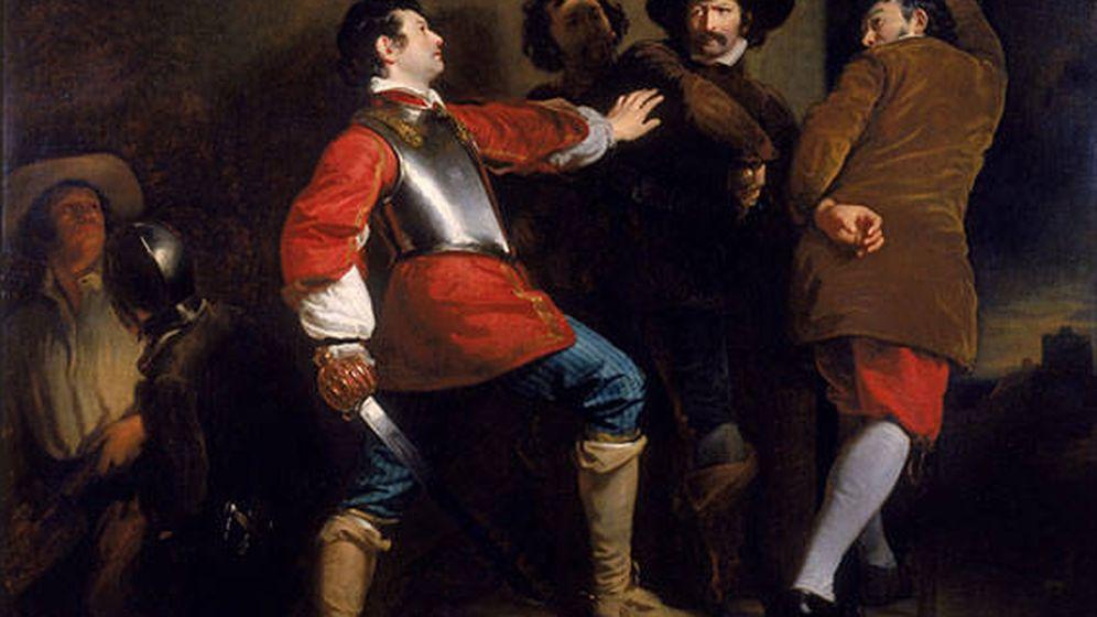 Foto: Descubrimiento de la Conspiración de la pólvora (1823), por Henry Perronet Briggs. (Wikipedia)