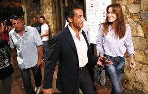 Sarkozy, Carla Bruni y su 'idilio' con 'Paris Match'