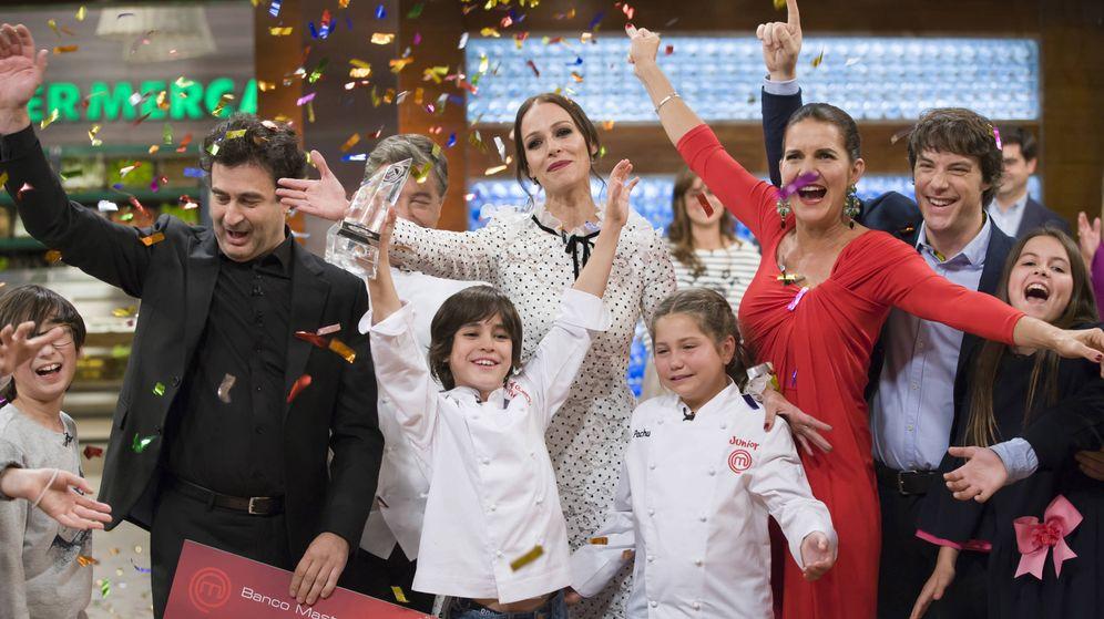 Foto: Eva González en la final de 'MasterChef Junior 6. (RTVE)