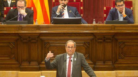 Siga el pleno del Parlament con una moción a Torra