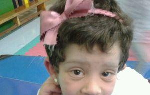 Maialen, el único caso en Europa con el síndrome de Donohue