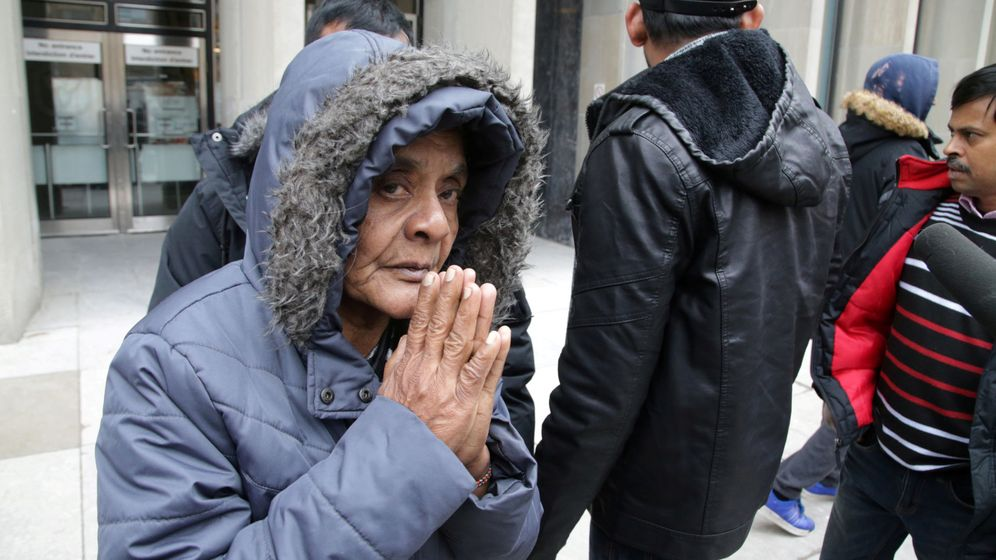 Foto: Madre de una de las víctimas de Bruce Mcarthur. (Reuters)
