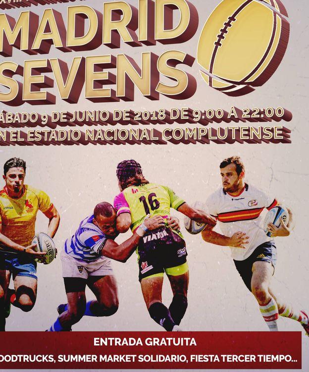 Foto: Cartel del Madrid Sevens de este sábado.
