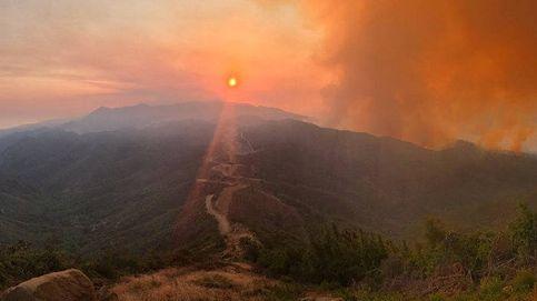 Los incendios forestales que arrasan California