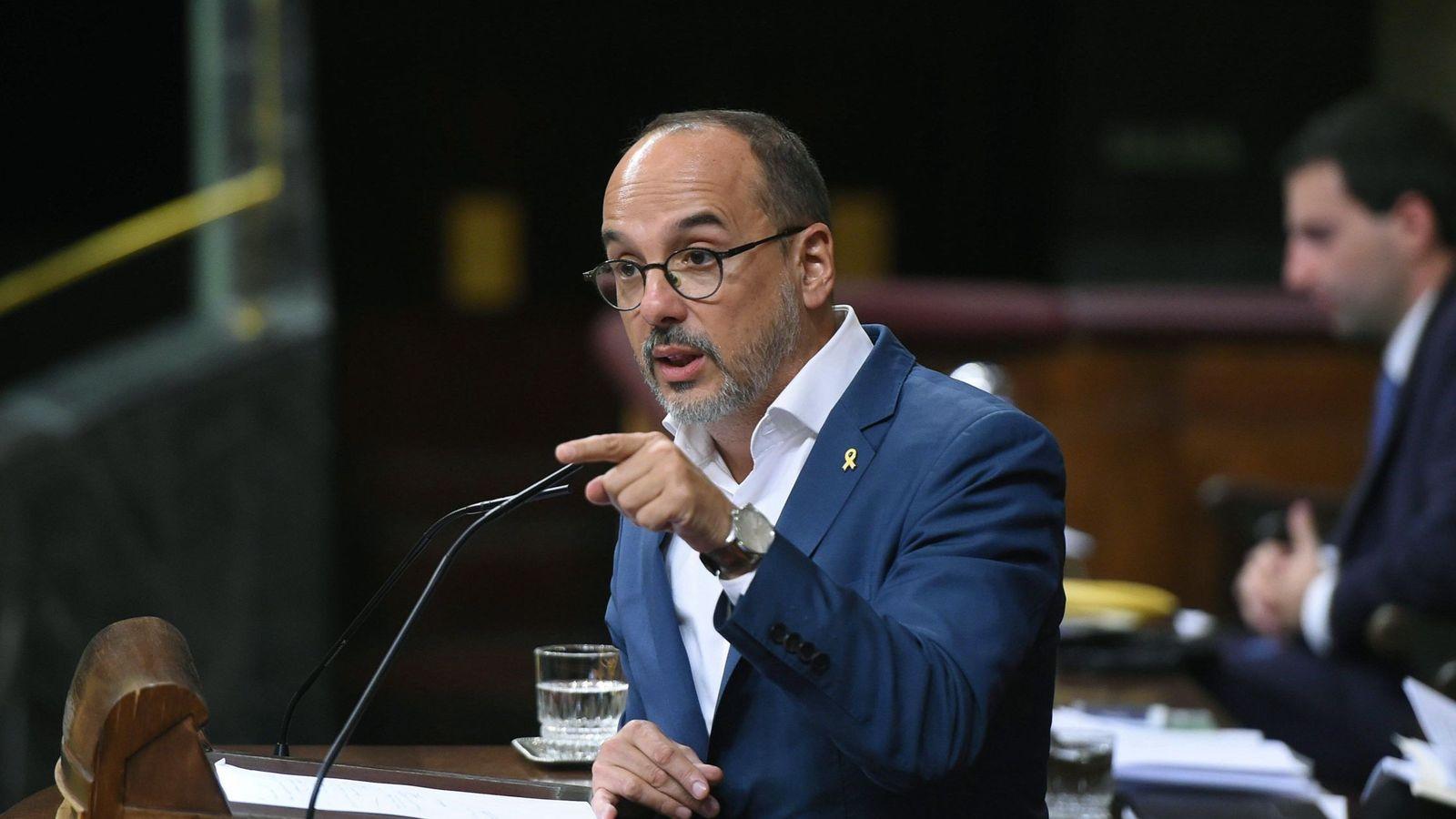 Foto: El portavoz del PDeCAT en el Congreso, Carles Campuzano. (EFE)