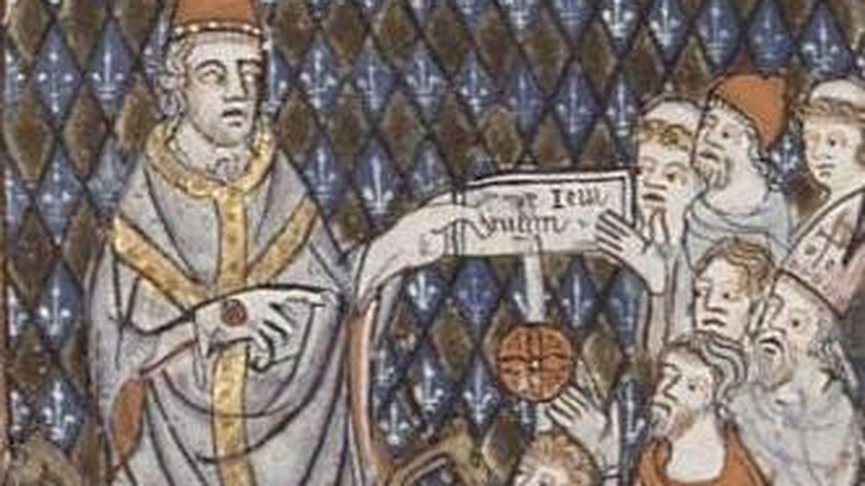 Imagen de Calixto I durante su pontificado.