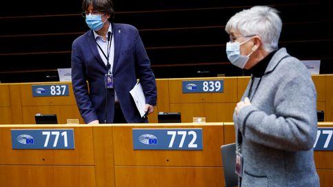 Unidas Podemos vota en contra de levantar la inmunidad de Puigdemont