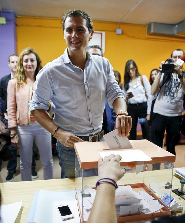 Foto: Rivera y Arrimadas piden una participación récord para que haya un cambio en Cataluña