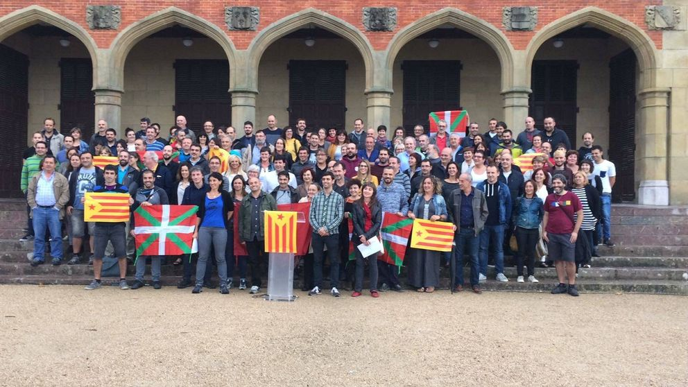 Cargos 'abertzales' de 100 pueblos irán a Cataluña para ejercer de observadores