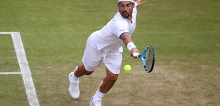 Post de La rajada de Fabio Fognini en Wimbledon: