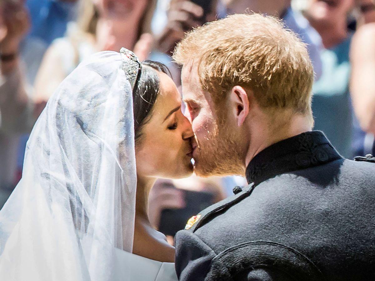 Foto: Meghan Markle y el príncipe Harry, recién casados. (Reuters)