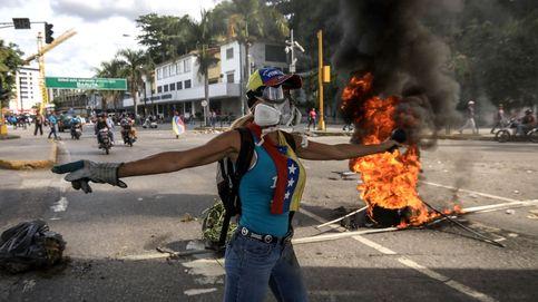 Muere quemado un hombre en una manifestación en Venezuela