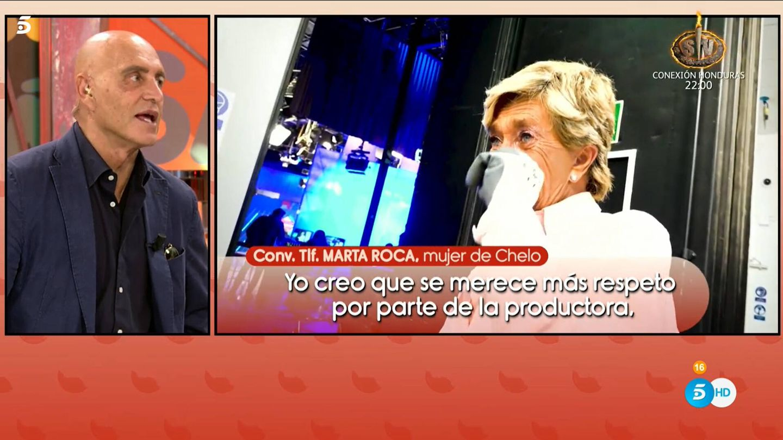 Kiko Matamoros, en 'Sálvame'. (Telecinco)