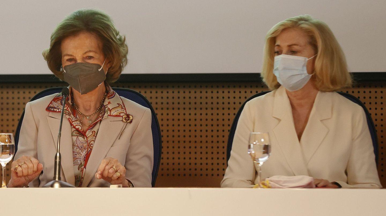 La reina Sofía, en el VIII Congreso Internacional de Investigación e Innovación en Enfermedades Neurodegenerativas. (EFE)
