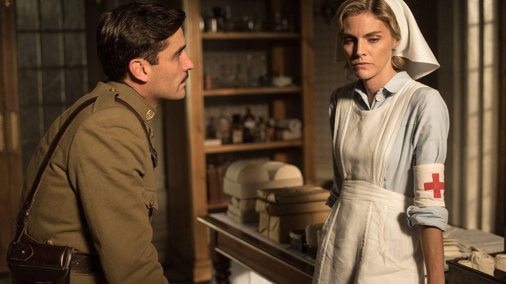 Foto: Fotograma del último episodio de 'Tiempos de guerra'. (Atresmedia Televisión)