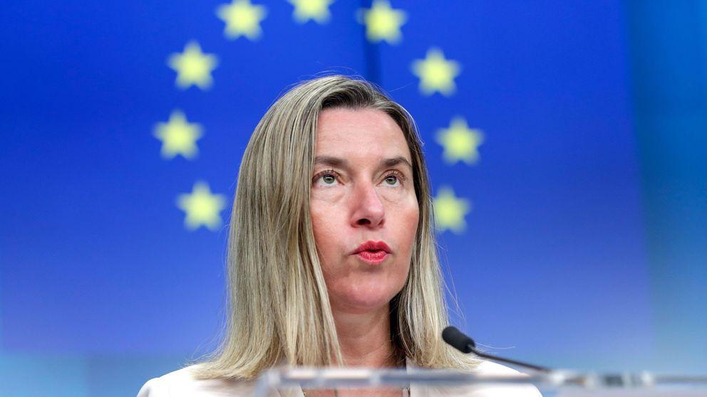 La UE sigue desde la distancia el alzamiento en Venezuela
