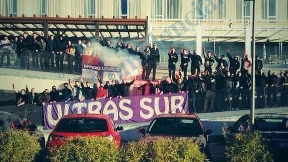 Un grupo radical relacionado con Ultras Sur asalta 'sede' del Frente