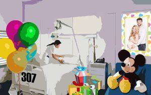 La habitación 327 de la Teknon espera a Shakira para dar a luz