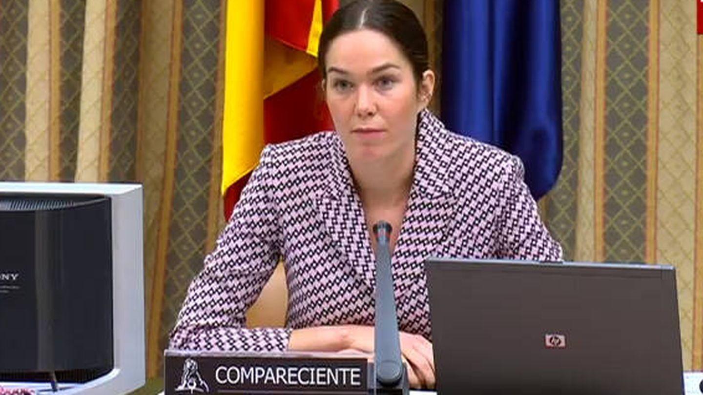 Arola Urdangarin, en el Congreso en 2020. (Congreso de los Diputados)