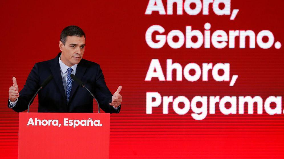 Foto: Presentación del programa electoral del PSOE para el 10N. (Efe)
