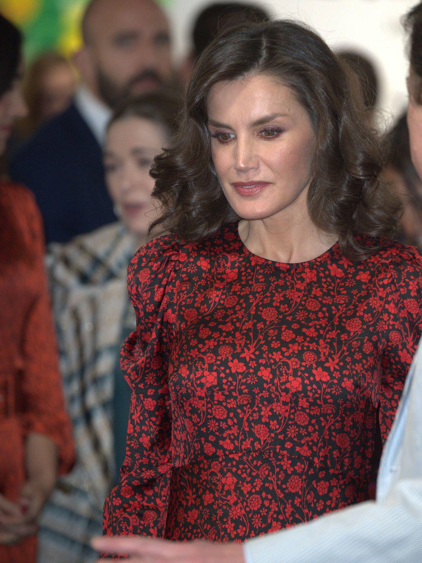 Los reyes Felipe y Letizia, en ARCO. (Limited Pictures)