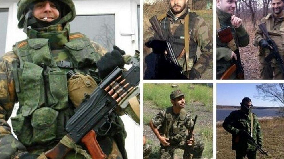 Detienen a ocho milicianos españoles tras combatir en el conflicto de Ucrania