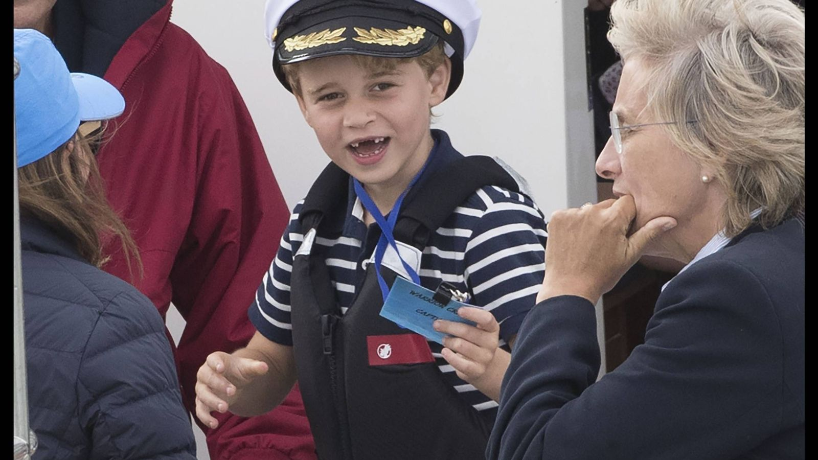 Foto: El príncipe George, en la King's Cup. (Cordon Press)