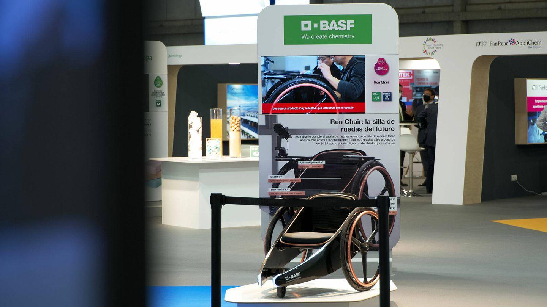"""Rein Chair, """"la silla de ruedas del futuro""""."""