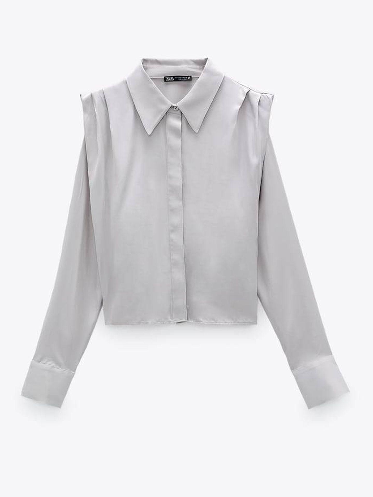 Blusa tendencia de Zara. (Cortesía)