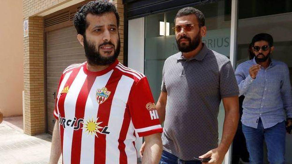 Foto: Turki Al-Sheikh, nuevo propietario de la UD Almería. (EFE)