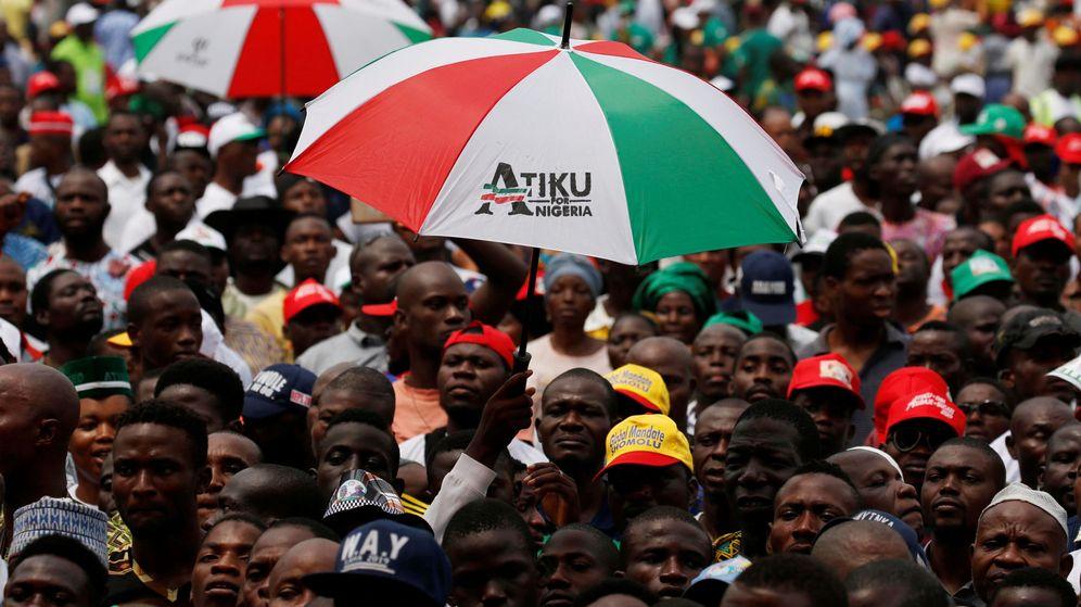 Foto: Nigerianos, en un mitin político en Lagos en febrero de 2019. (Reuters)