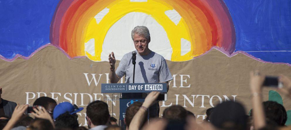 Foto: Bill Clinton en un acto en marzo de 2014. (Reuters)