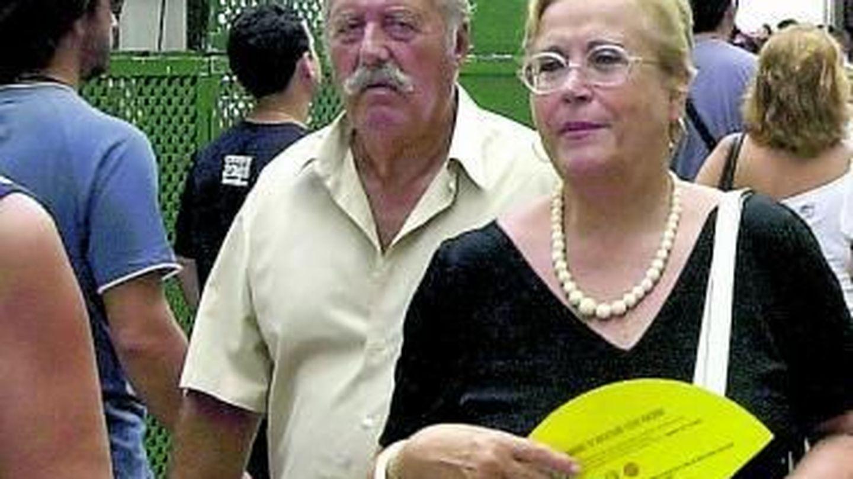 Tejero padre y su mujer, en una imagen de hace unos años. (EFE)