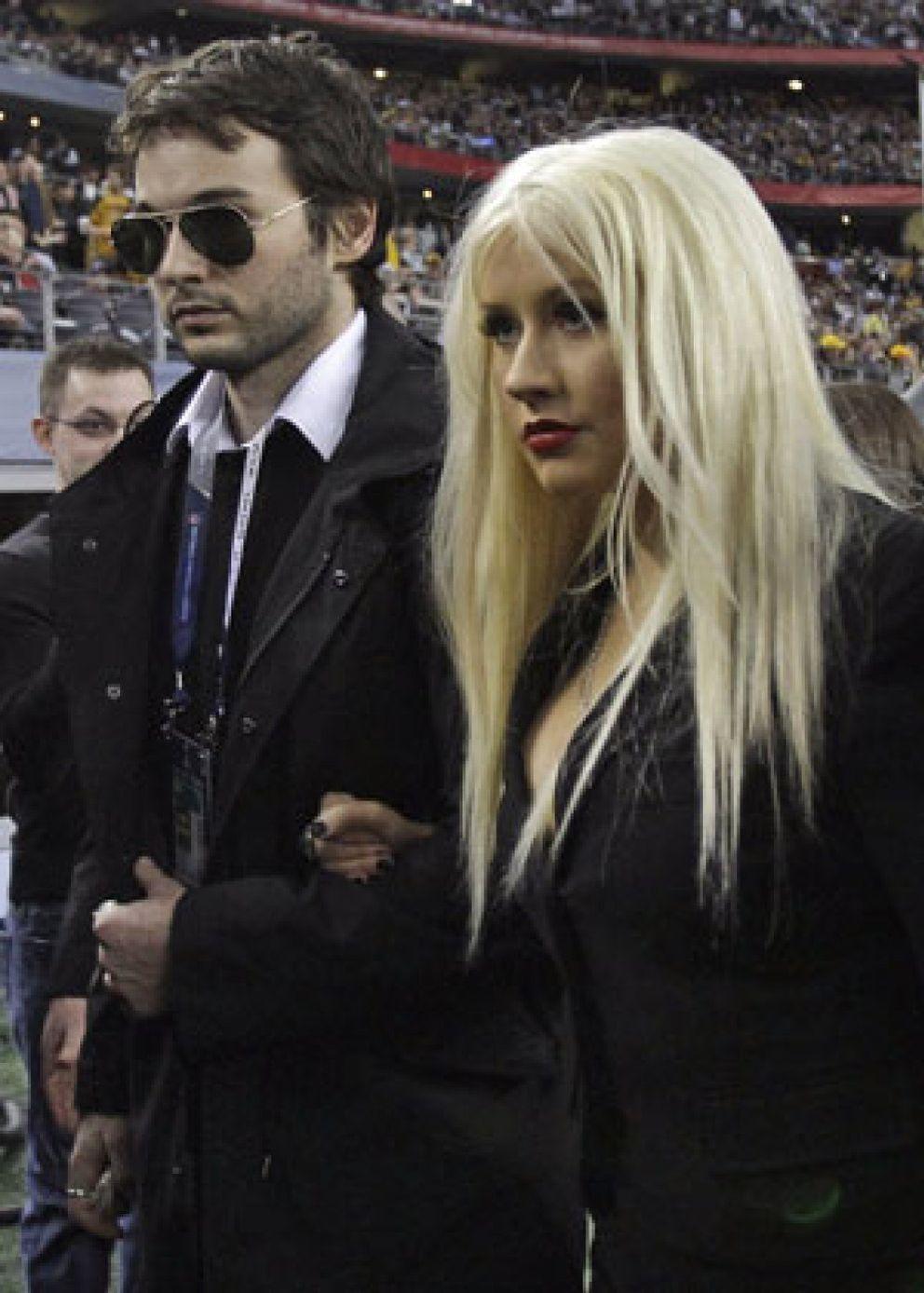 Foto: Christina Aguilera y su novio, detenidos por conducir ebrios