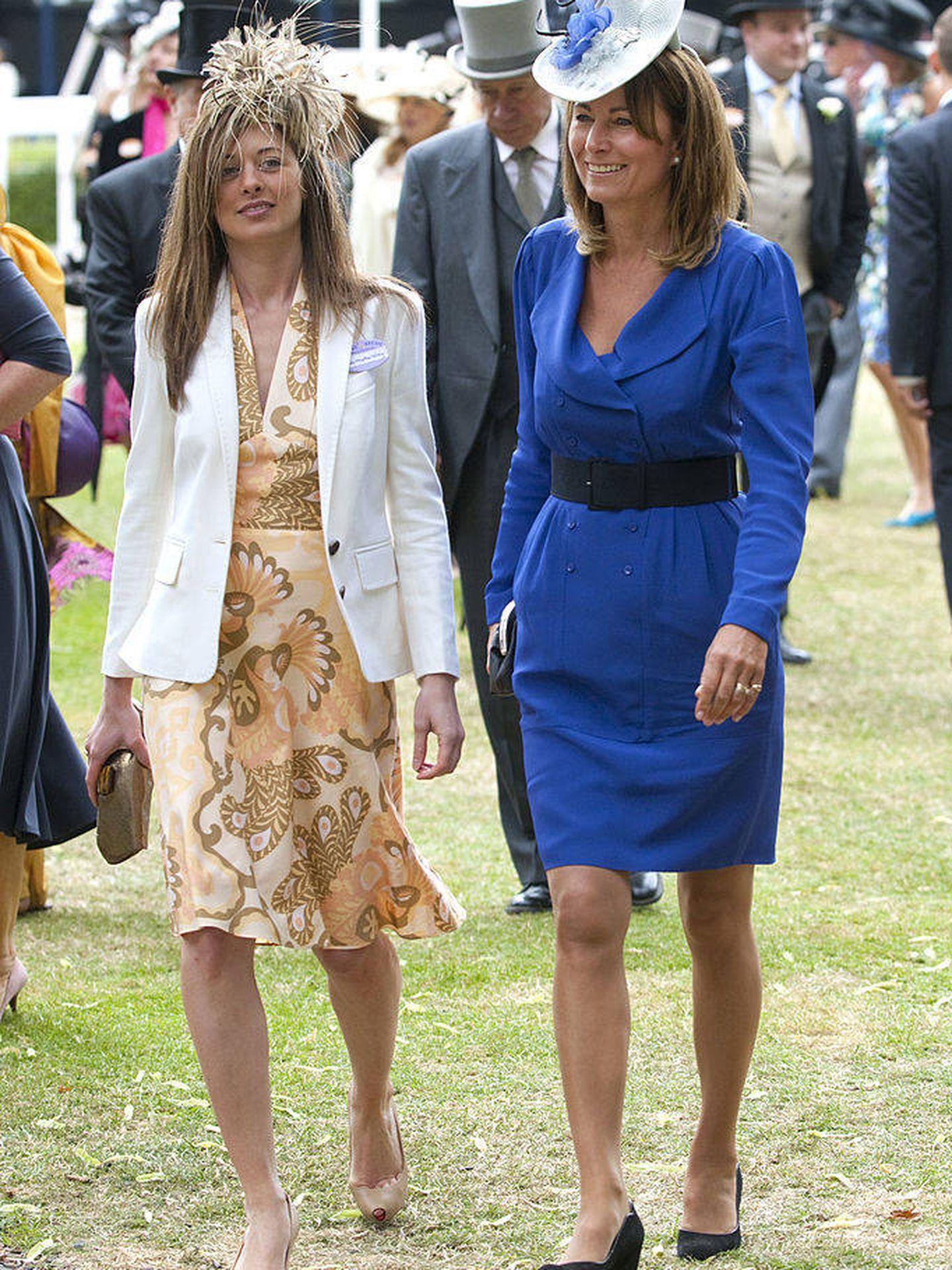 Carole Middleton, en 2010 con el vestido. (Getty)