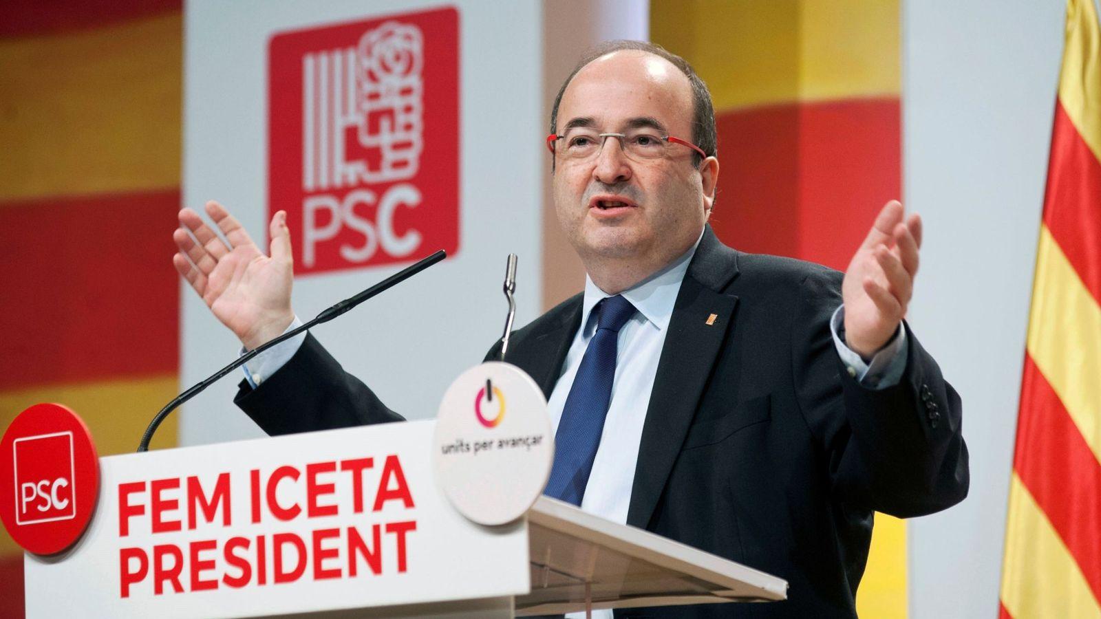 Foto: El candidato del PSC a la presidencia de la Generalitat. (EFE)