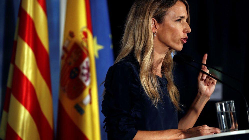 Foto: La portavoz parlamentaria del PP y cabeza de lista por Barcelona, Cayetana Álvarez de Toledo. (EFE)