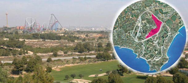 Foto: Terrenos donde se instalará BCN World.