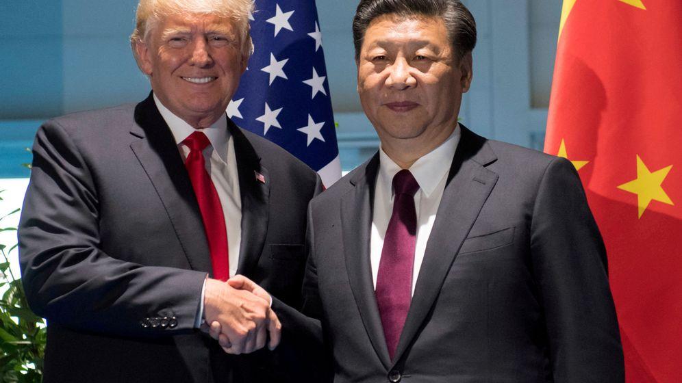 Foto: Los presidentes de EEUU, Donald Trump, y China, Xi Jinping, en el G-20 de 2017. (Reuters)