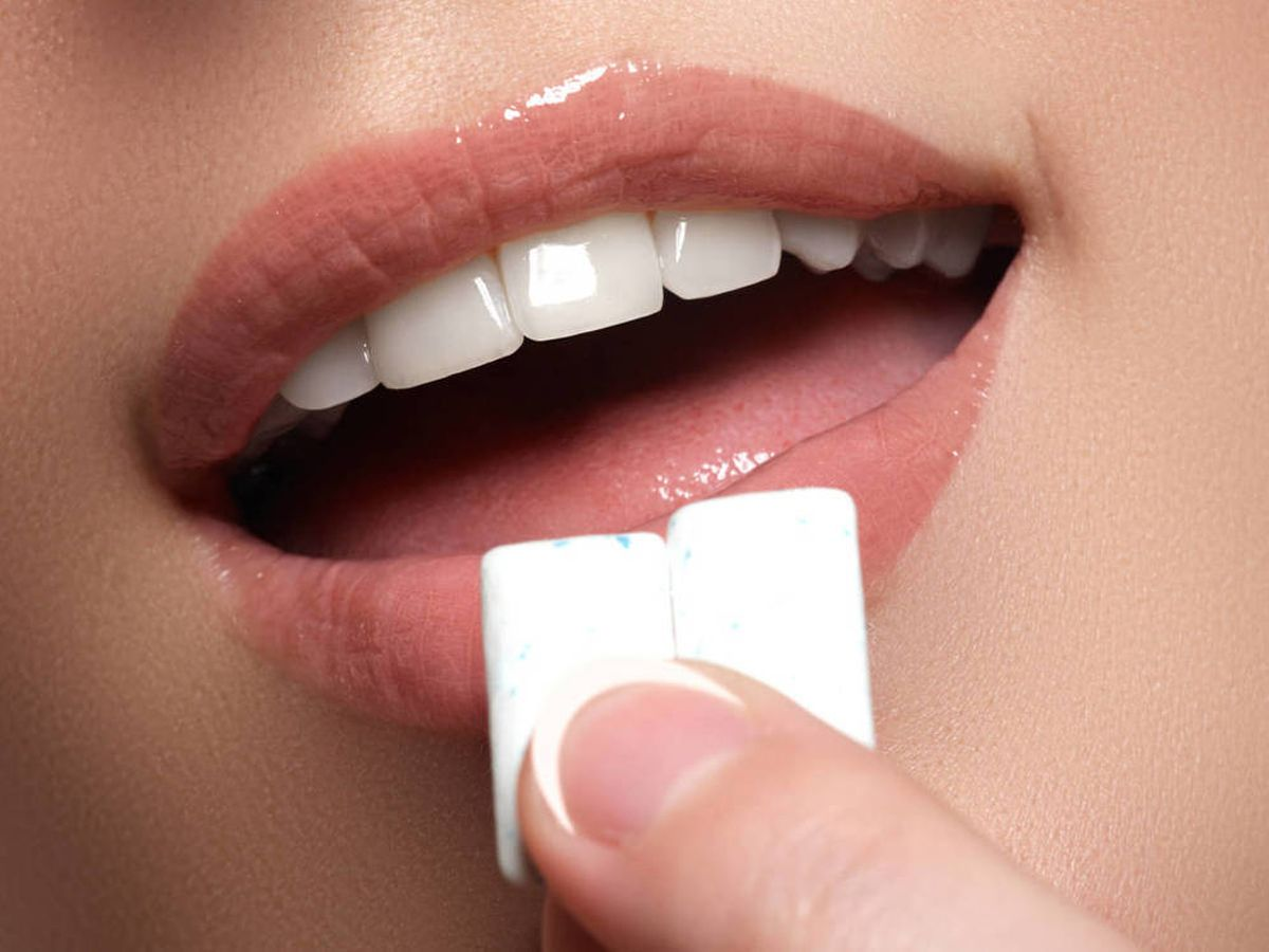 Photo: Teeth whiter than the gum itself.  (iStock)