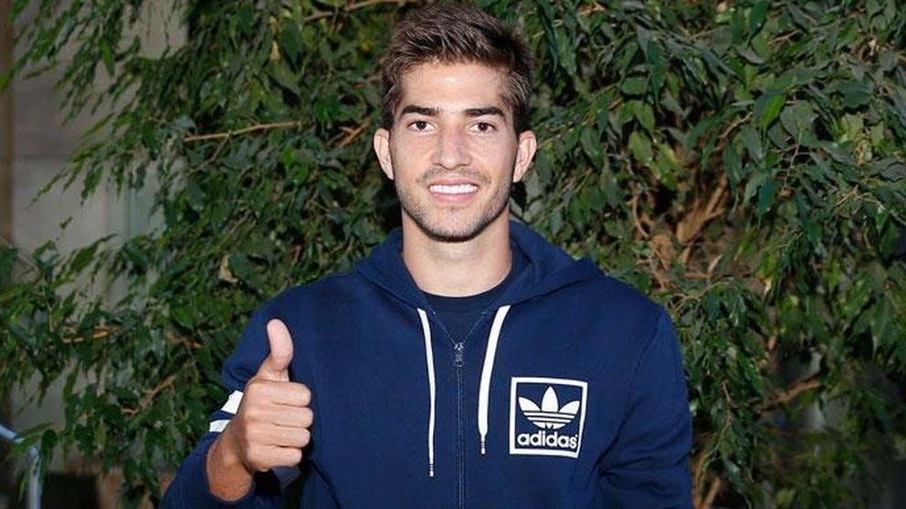 Lucas llega, mientras el pique Real-Athletic bloquea la salida de Illarra