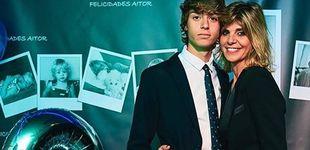 Post de Despixelamos a Aitor, el hijo de Guti y Arantxa de Benito, tras cumplir 18