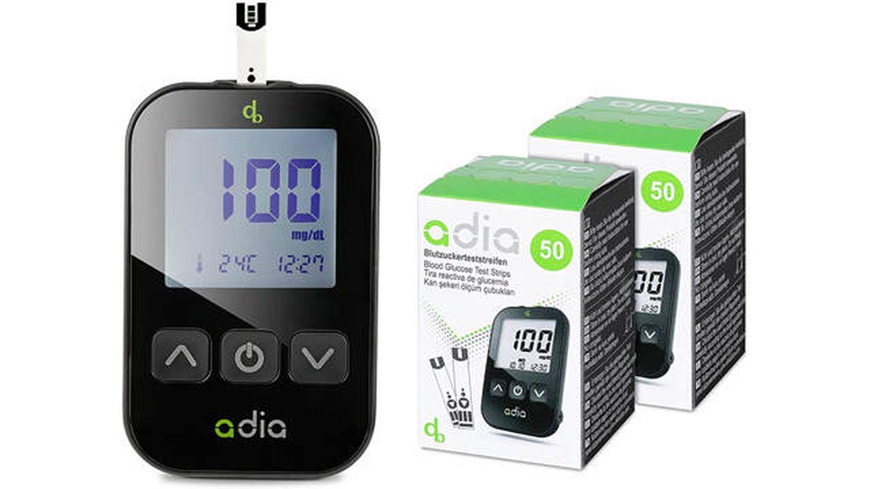 Glucómetro de Adia