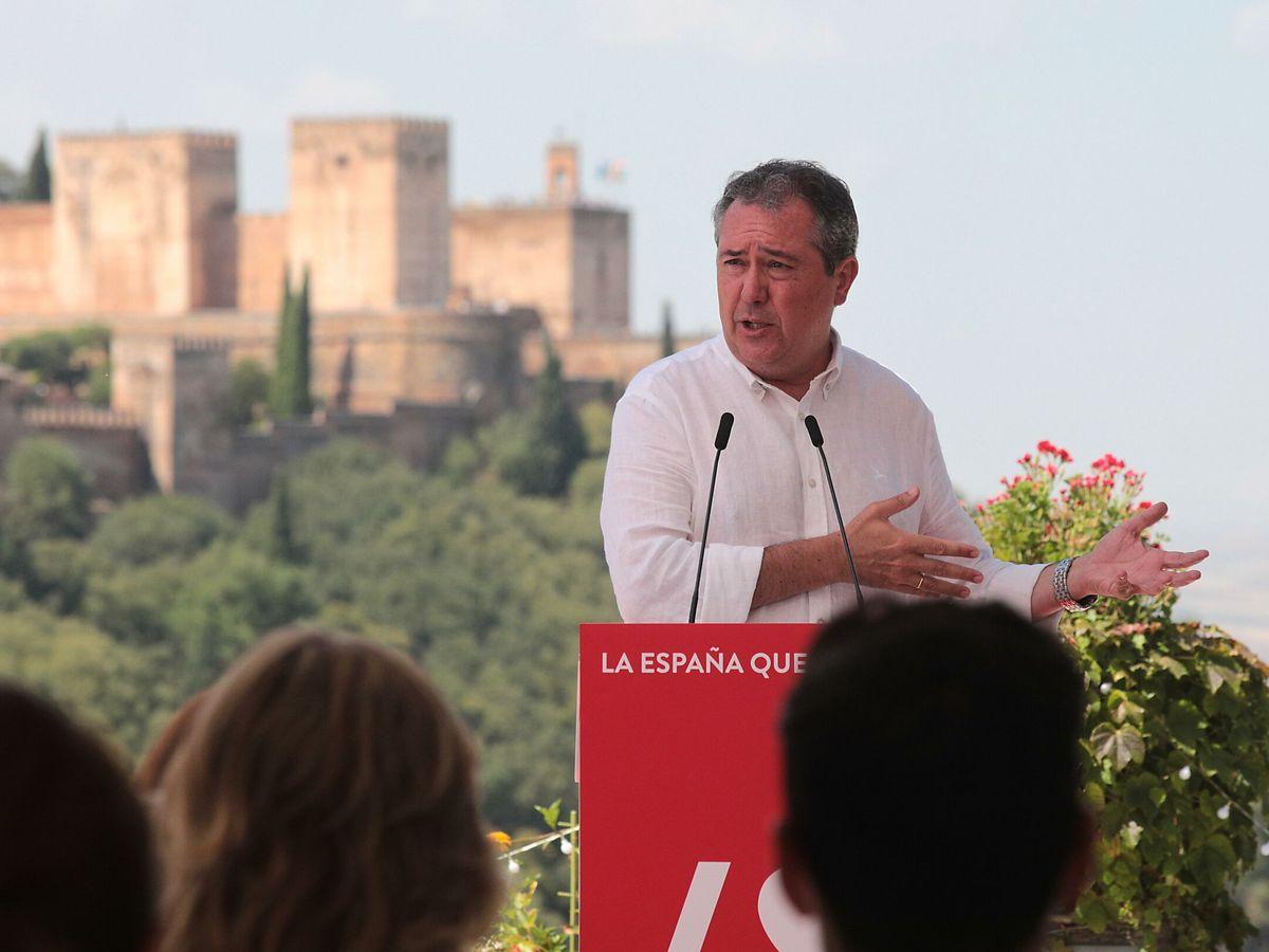 Foto: Juan Espadas, secretario general del PSOE-A. (EFE)