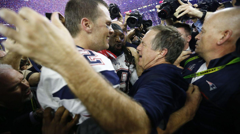 Brady y Belichick (Reuters)
