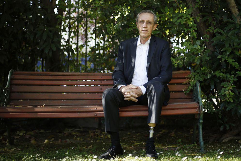 Foto: El senador colombiano Antonio Navarro Wolff, antiguo guerrillero del Movimiento 19 de Abril (M-19), durante una entrevista en Santiago de Chile (Efe).