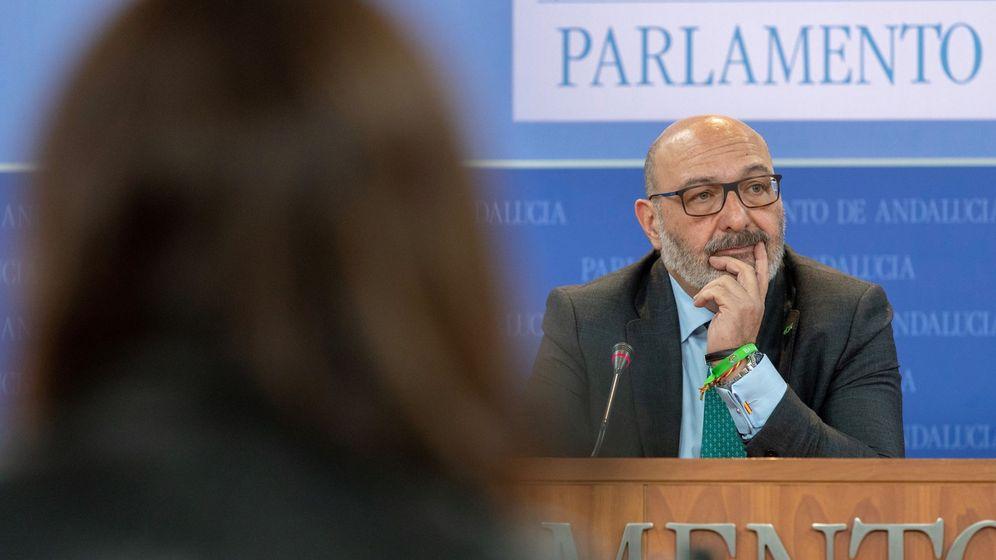 Foto: El portavoz de Vox, Alejandro Hernández. (EFE)