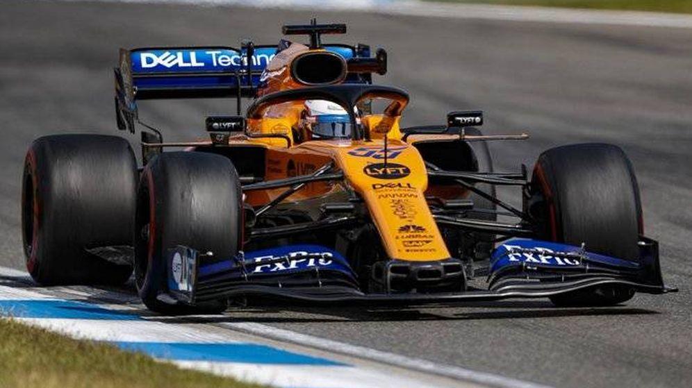 Foto: Carlos Sainz durante los entrenamientos libres en Alemania. (Foto: McLaren)