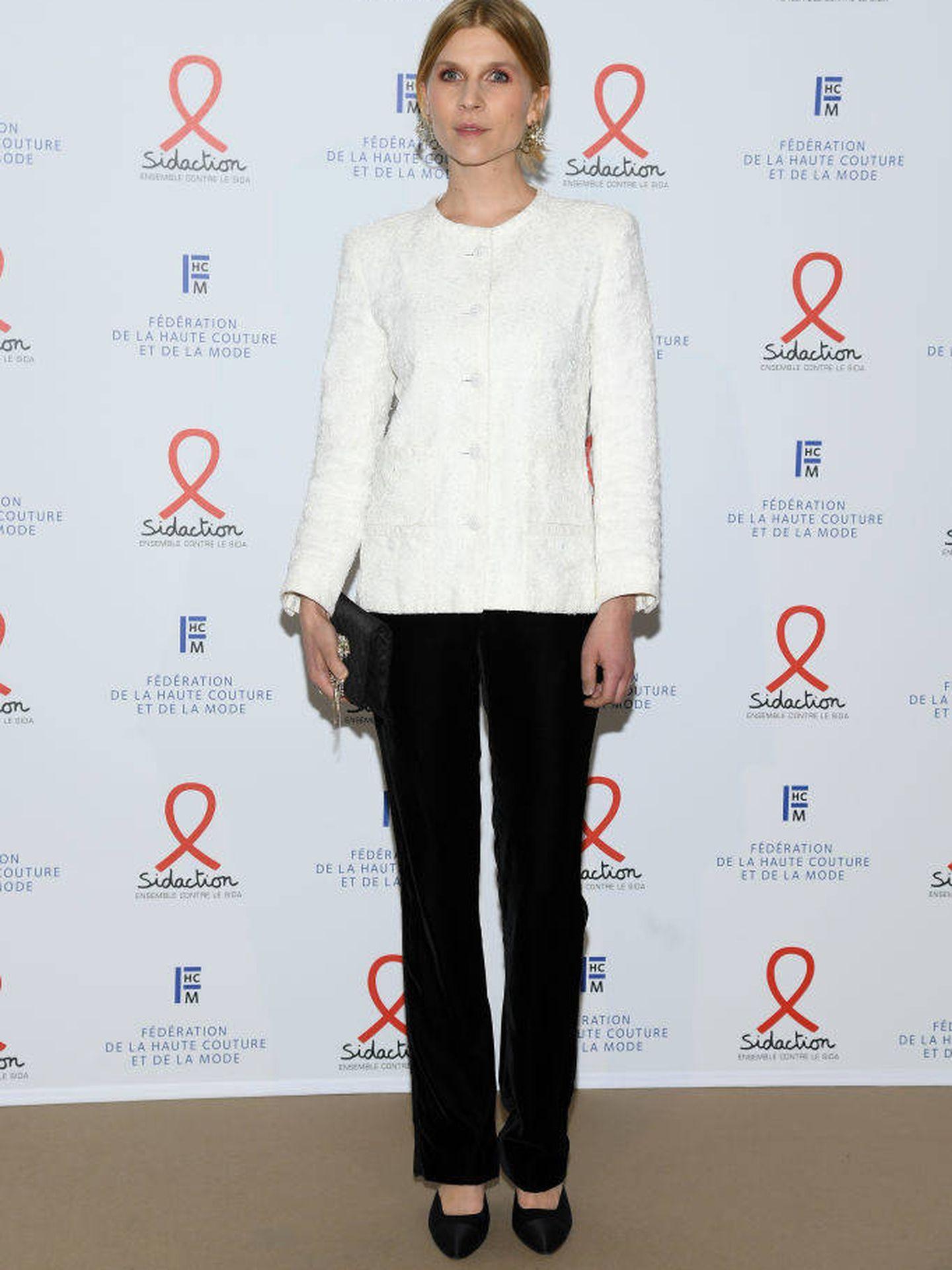 El look más soso de la gala fue el de Clémence Poésy. (Getty)
